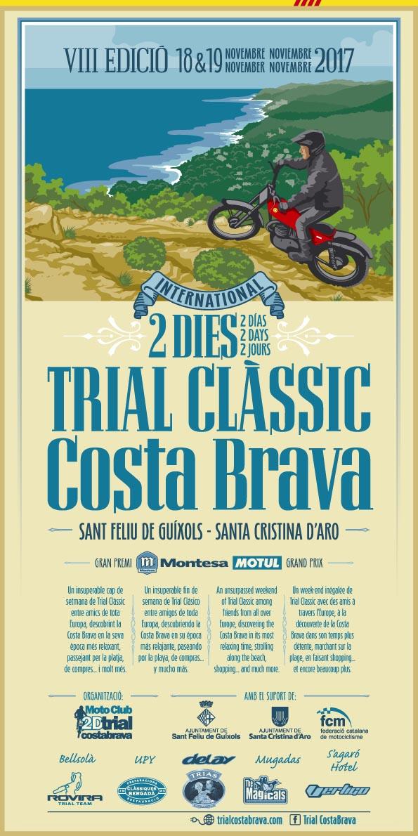 Cartell 2D TRIAL COSTA BRAVA 2017