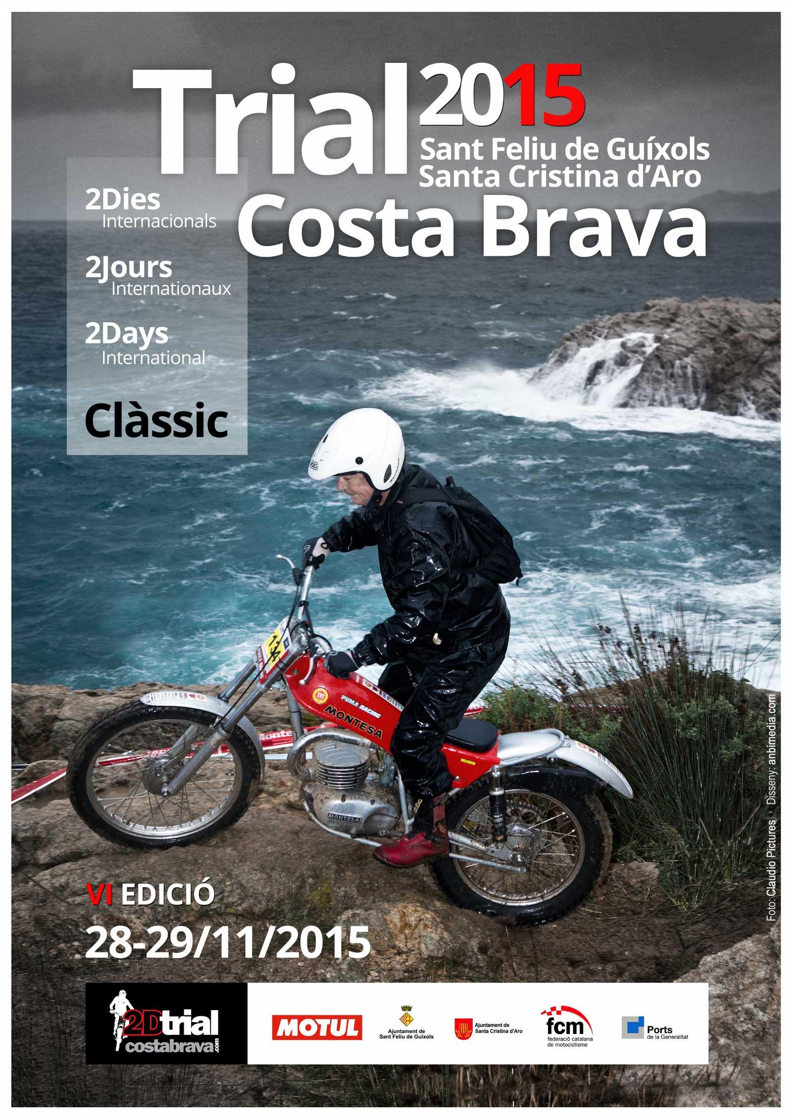 Poster Trial Costa Brava 2015