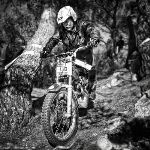 Trial Classic Costa Brava. Foto Carles Carreras