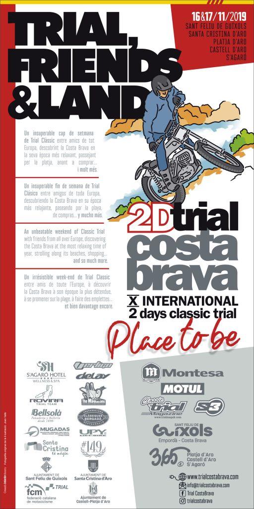 Cartell 2D TRIAL COSTA BRAVA 2019